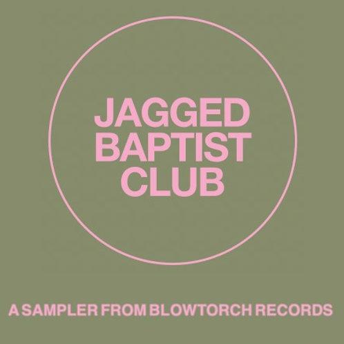 Jagged Baptist Club cassette sampler