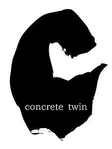 Logo for Tokyo shoegaze band concrete twin