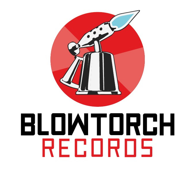 Early version of Blowtorch Records logo