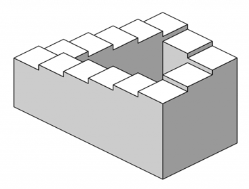 Penrose staircase