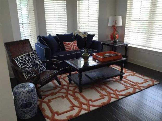 Chub Cay villa living room