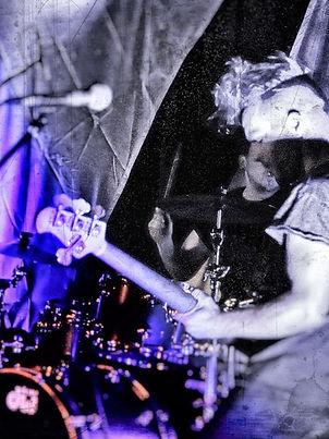 Cornish indie grunge band WAXX live on stage