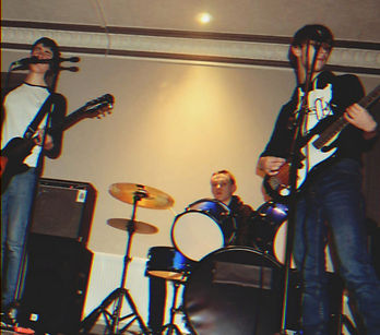 Cork rock band Ash Red playing live