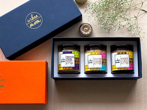 Gift Box - Set of 3 Nut Butters