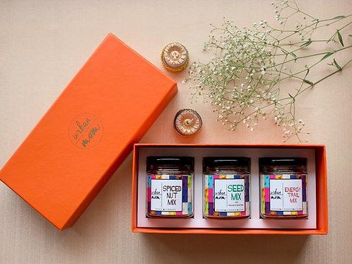 Gift Box - Set of 3 Nut Mixes