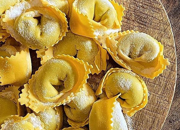 Tortelli alla ricotta e spinaci