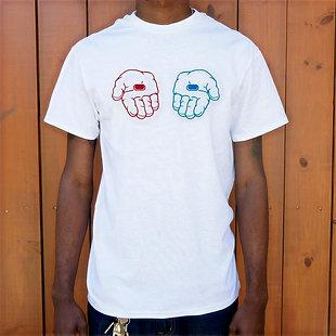 Red Pill, Blue Pill T-Shirt (Mens)
