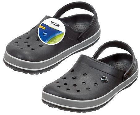 נעלי גינה צבע שחור סטוקר