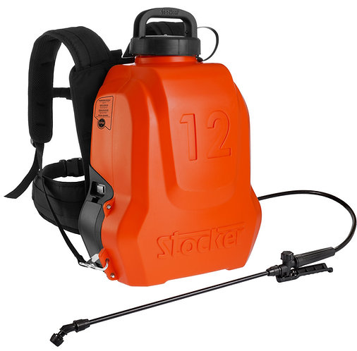סמרסס גב נטען 12 ליטר סטוקר סוללה 18 וולט
