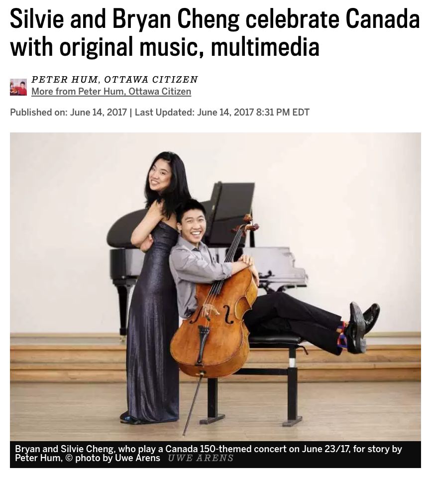 Silvie+Bryan Cheng celebrate Canada