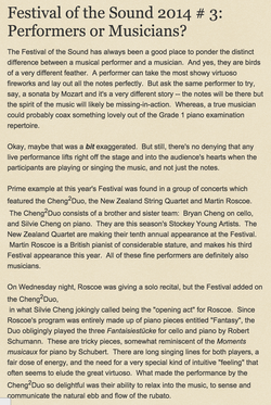 Festival of the Sound 2014