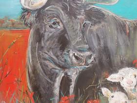 Bull and Lambs