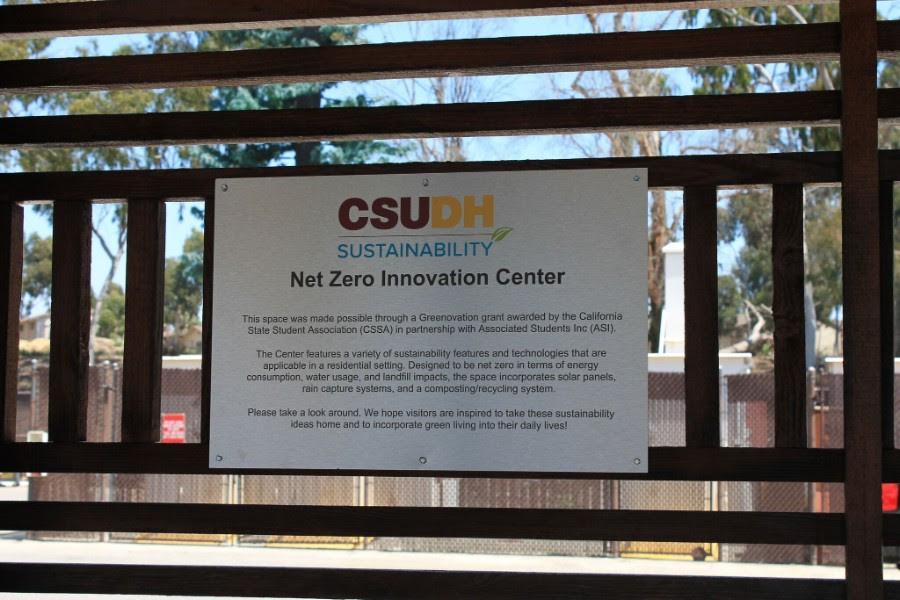Net Zero Center Signage