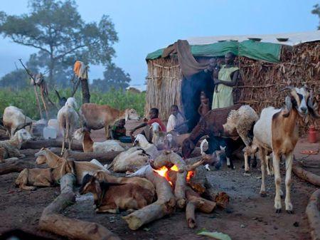 REFUGEE CAMP SUDAN AND ETHIOPIA
