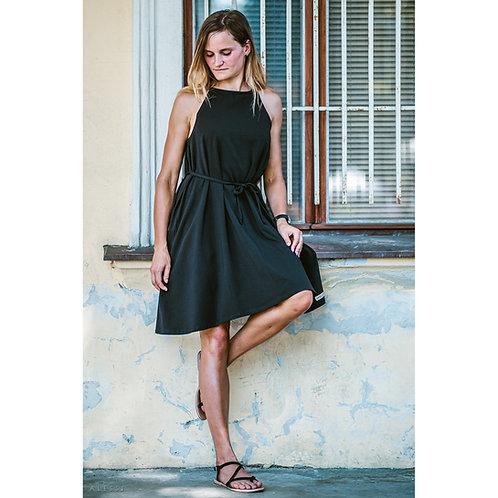 Bambulich šaty AMÉLIE černé