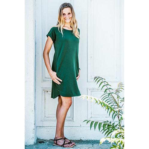 Bambulich podzimní šaty SMARAGD