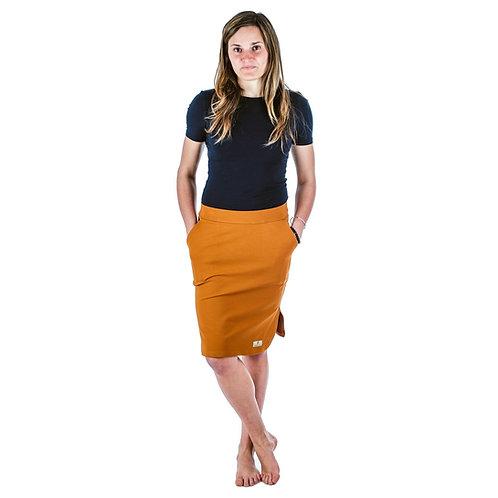 Bambulich jarní sukně YVETT hnědá