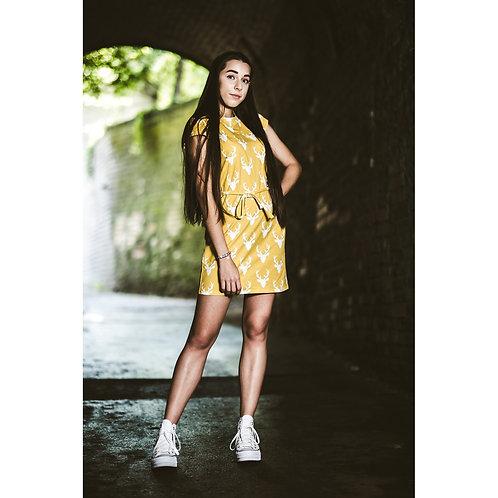 Bambulich šaty OKROVÉ JELENOVO