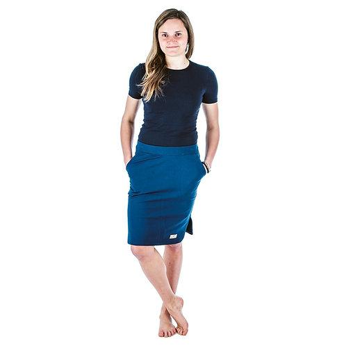 Bambulich jarní sukně YVETT tmavě modrá