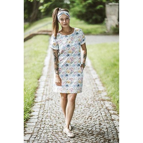 Bambulich šaty KVĚTOVO