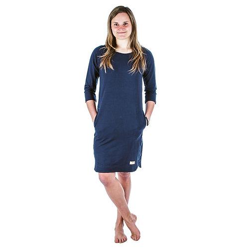 Bambulich šaty LÍVIE tmavě modré