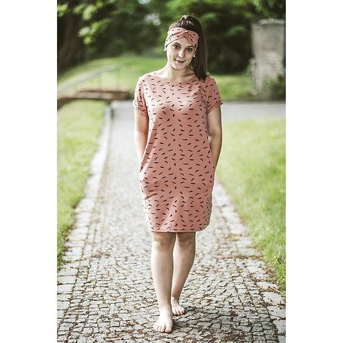 Bambulich šaty ALICE meruňkové