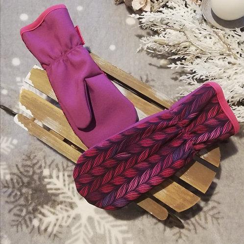 Bambulich softshellové rukavice COPY