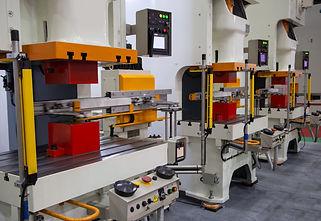 Automation hydraulic press stamping mach