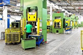 Metal production heavy machines and fact