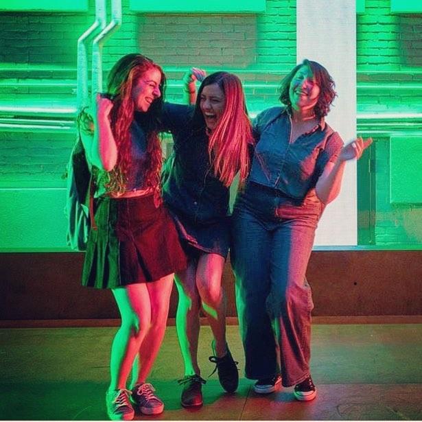 Hannah, Olivia and Rachel