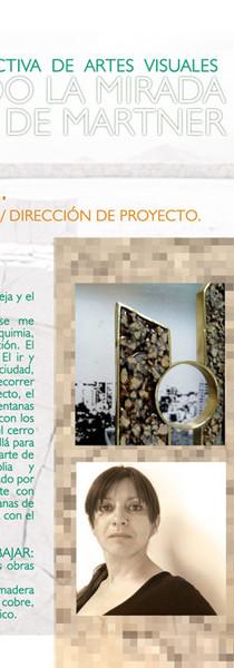 """Afiche para """"Buscando la mirada de Martner"""""""