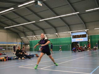 Kom badmintonnen bij Veglo!