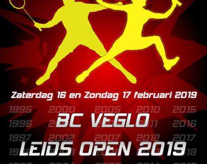 Het 25e Leids Open komt eraan!