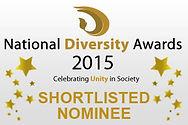 National Diversity Awards 2015 Shortlisted Nominee