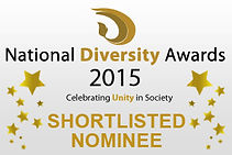 National Diversity Awards 2015 Shortlisted Nominee