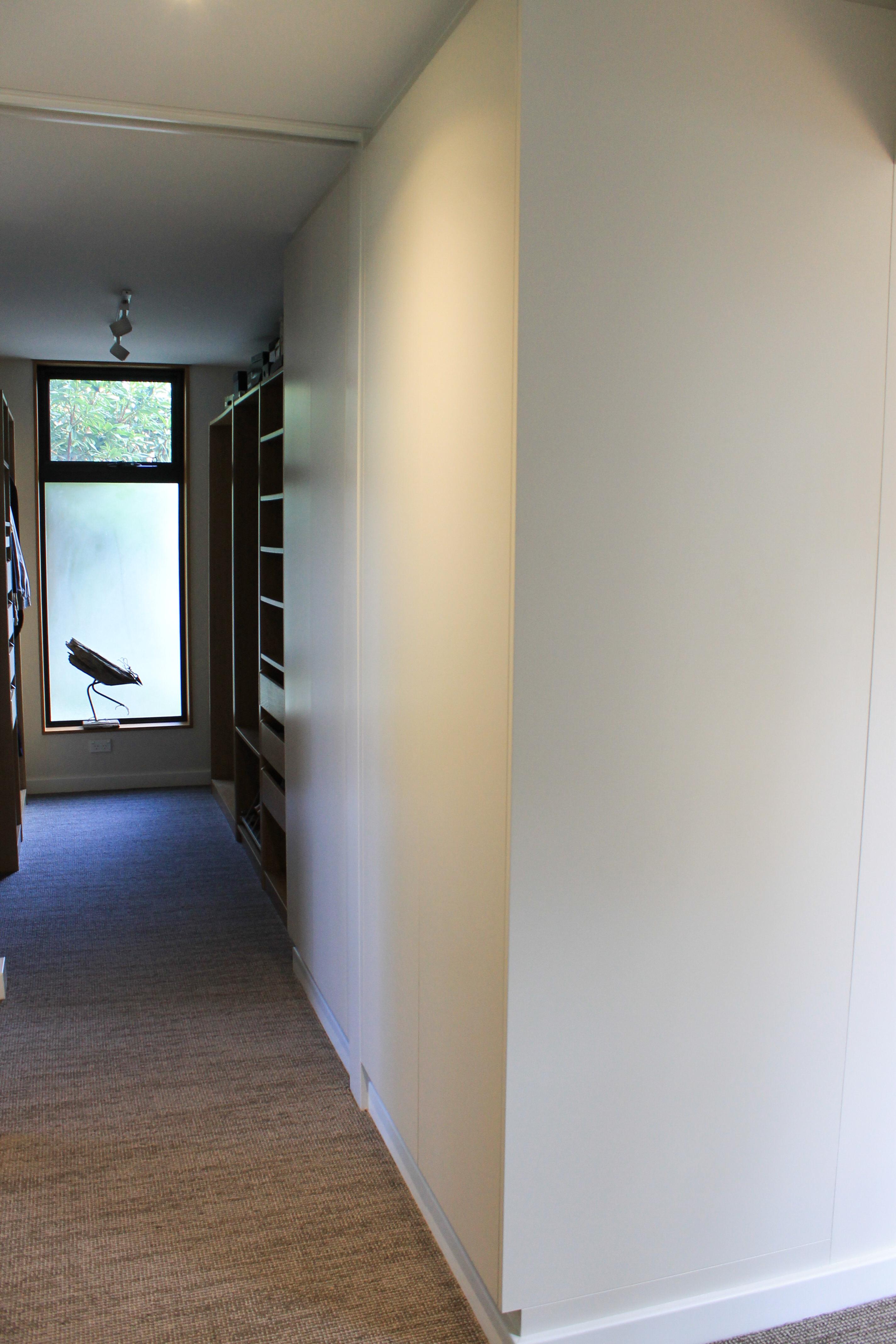 Hidden Linen Cupboard - Doors Closed