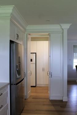 Door for hidden pantry (open)