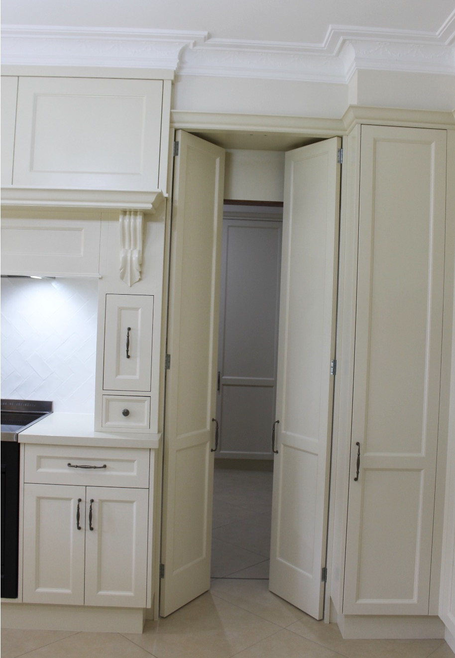 Kitchen Design - Walk-in Laundry