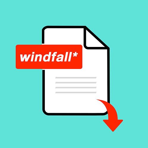 Windfall* Issue 3 | Digital Copy