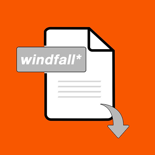 Windfall Issue 2 | Digital Copy