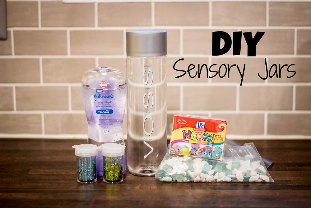 DIY Sensory Jars by JeJe Design