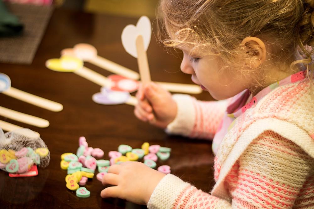 Valentines Day Heart Craft by JeJe Design