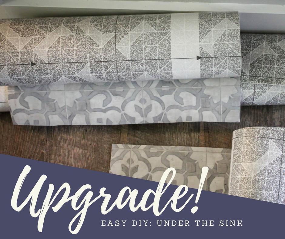 Easy DIY Updateing Bathroom Cabinets