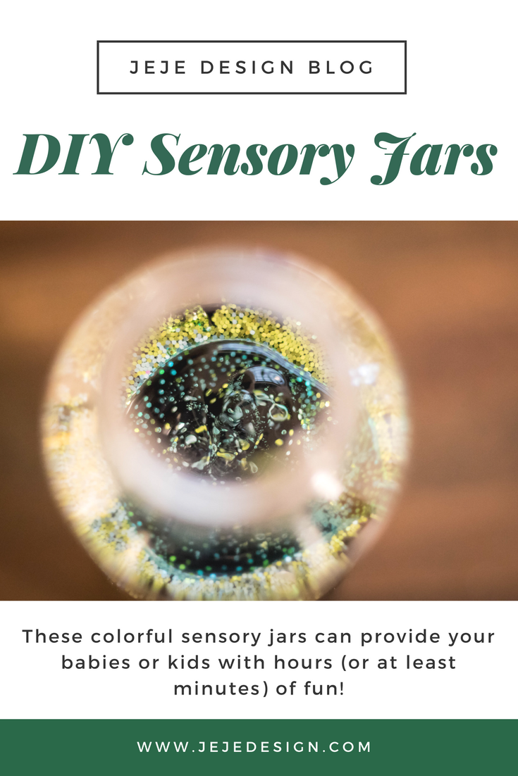 DIY Sensory Jars an Easy Craft for Kids and Babies