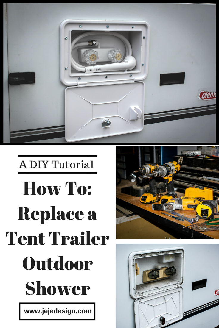 How to Replace a Tent Trailer Outdoor Shower