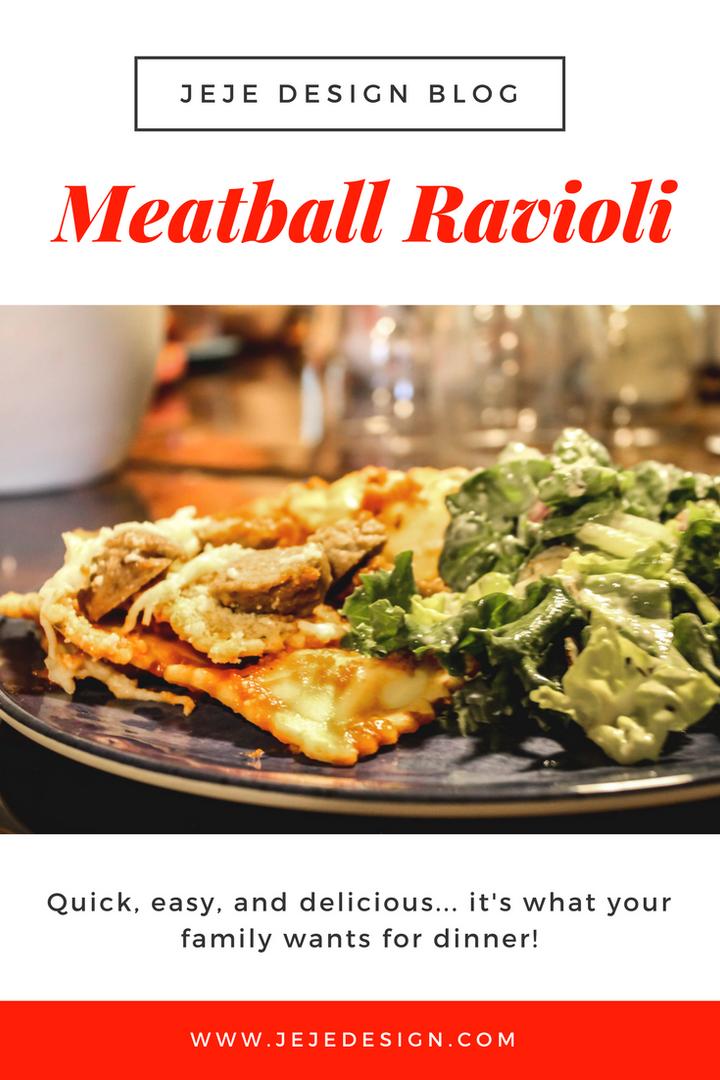 Meatball Ravioli