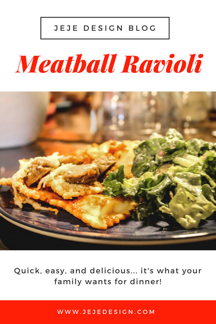 Meatball Ravioli by JeJe Design