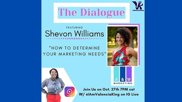 S&W Founder, Shevon Williams Interview w
