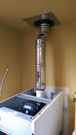 boiler flue