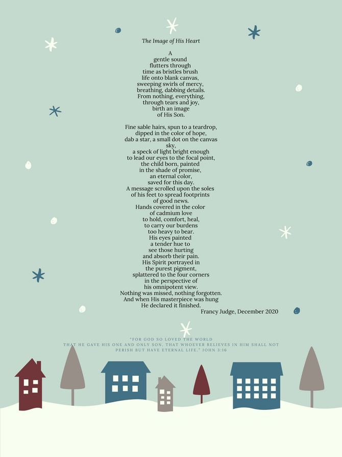 The Image of his heart / Christmas poem 2020